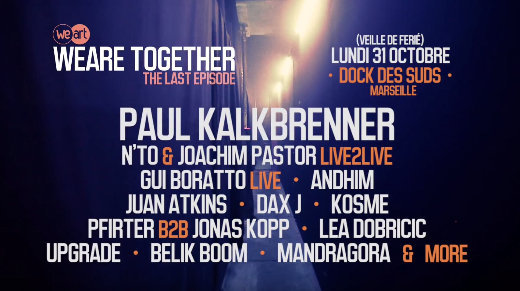 2 places à gagner pour WeAre Together! -