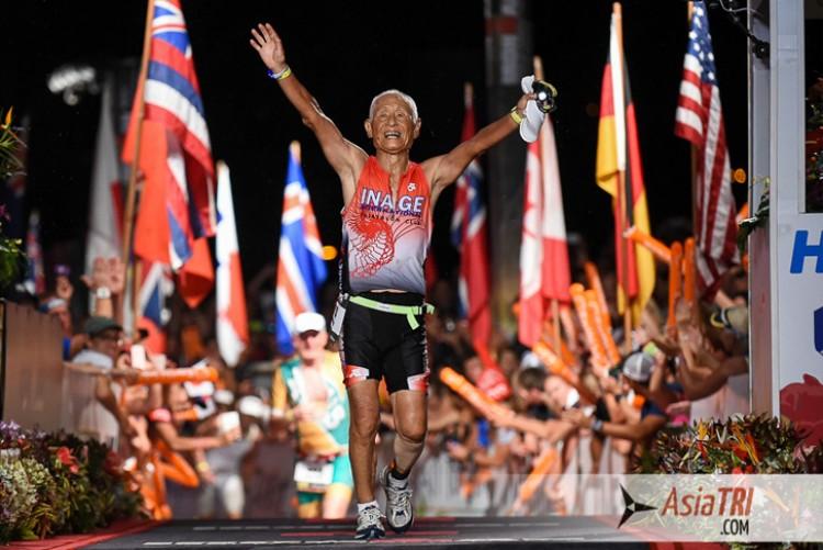 À 83 ans, Hiromu Inada a terminé l'ironman de Hawaï dans les temps !