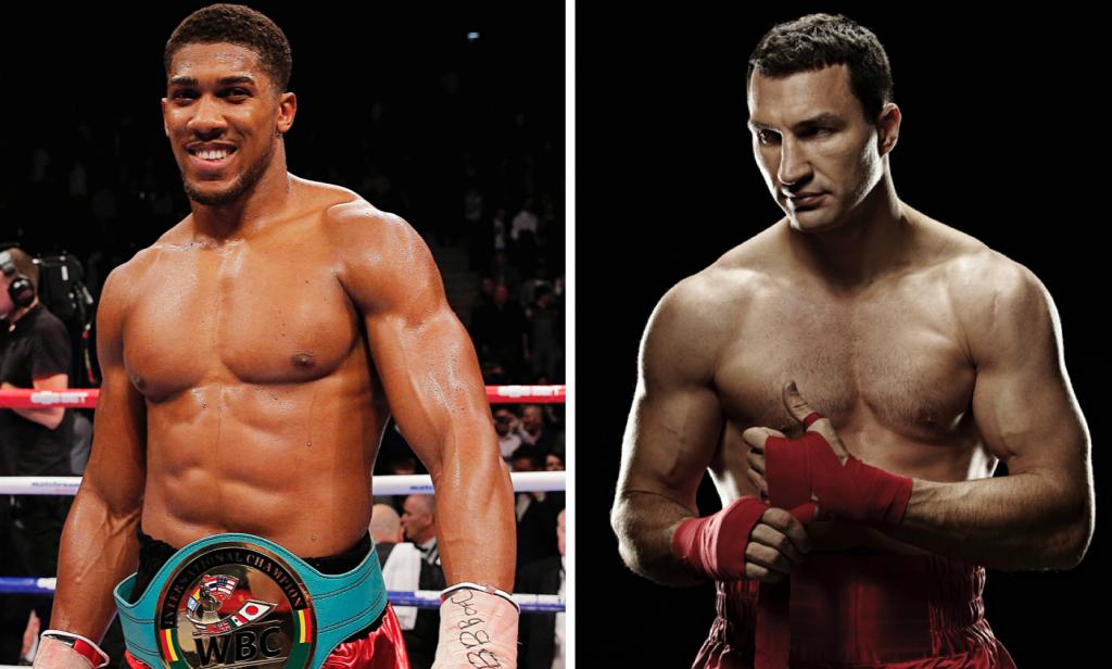 Anthony Joshua et Vladimir Klitschko pour le combat de l'année!