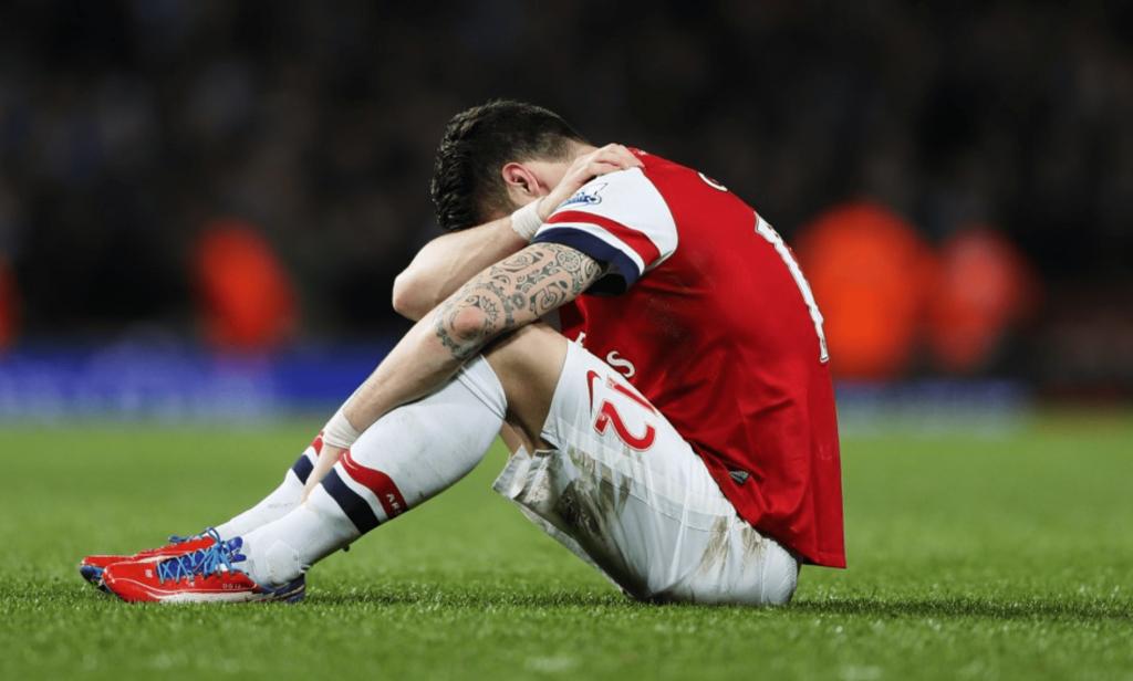 Arsenal - La fin pour Olivier Giroudavec les Gunners ?