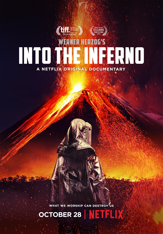 Avec Into the Inferno, Werner Herzog vous emmène au cœur des volcans