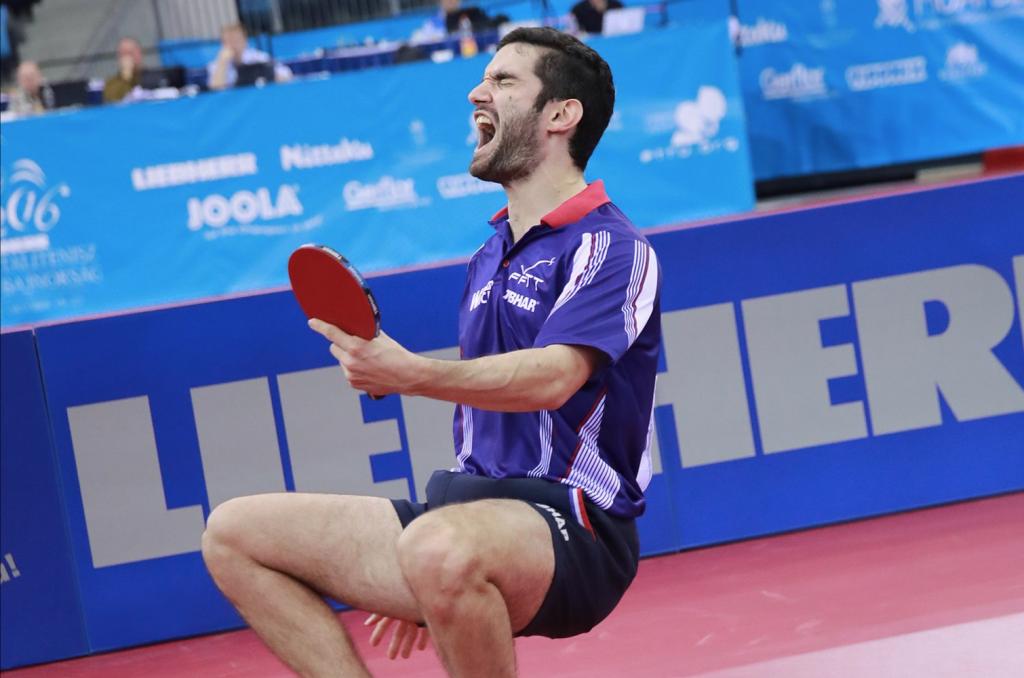 Emmanuel Lebesson champion d'Europe dans une finale 100% française !