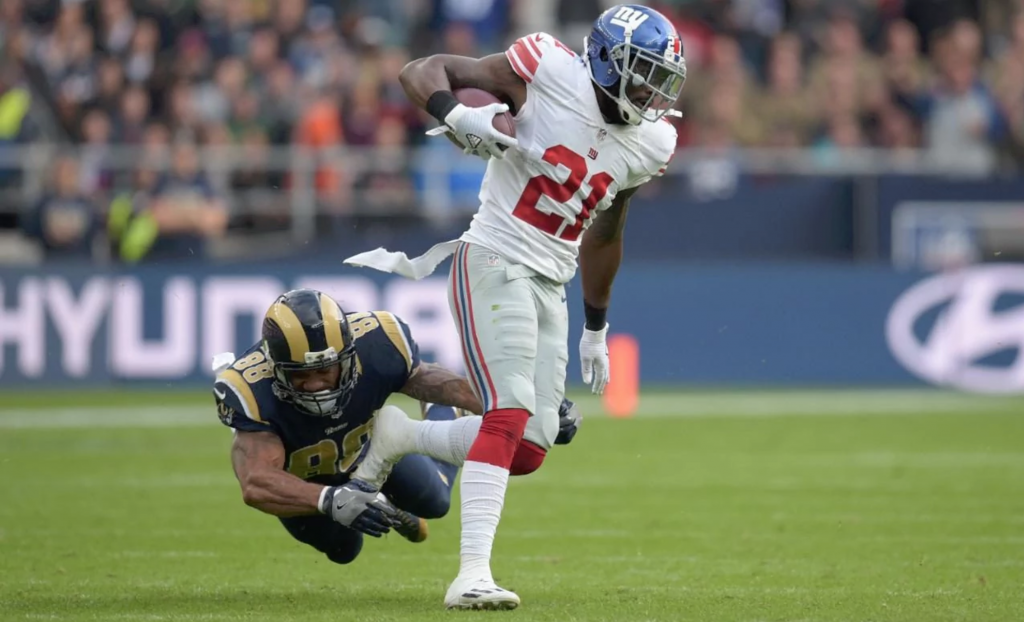 Giants vs. Rams - Landon Collins intercepte puis pulvérise 8 défenseurs