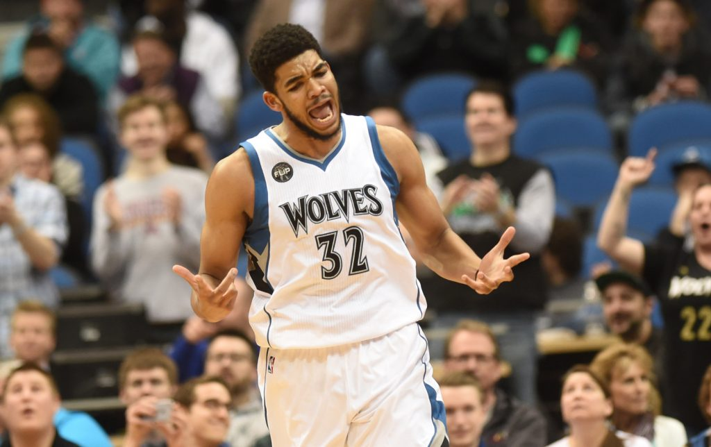 Karl Anthony Towns atomise les Memphis Grizzlies