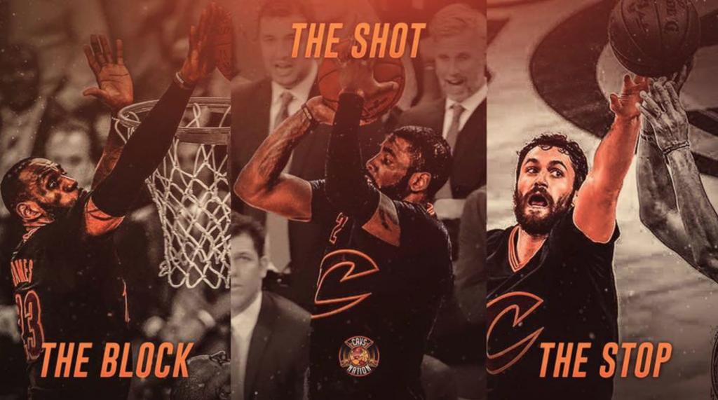 Le Game 7 des Cavaliers en trois actions de légendes