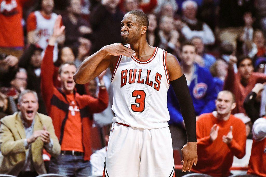 Toujours aussi clutch, Dwyane Wade porte les Bulls face aux Celtics