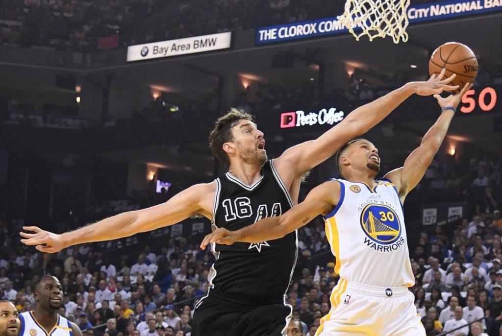 Les Spurs ont cartonné les Warriors +29