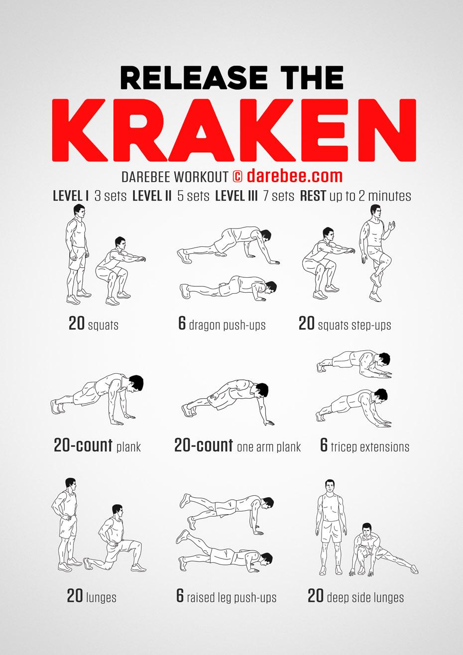 Libérez le Kraken - Le full-body workout de la mort