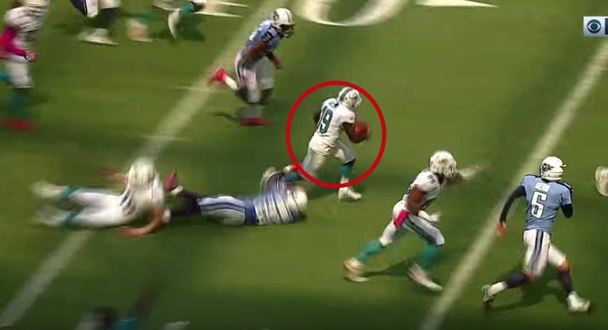 NFL - Jakeem Grant pour un TD monstrueux de 74 yards