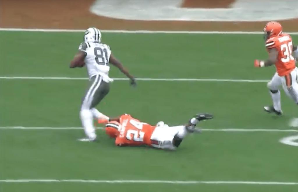 NFL - Quincy Enunwa flingue la défense des Browns