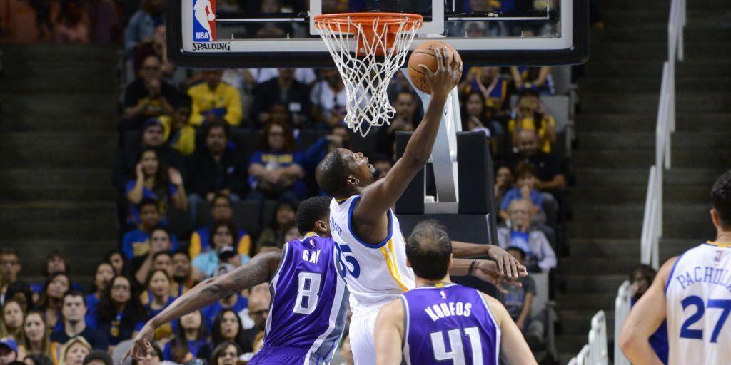 Portés par un très bon Kevin Durant, les Warriors font tomber les Kings