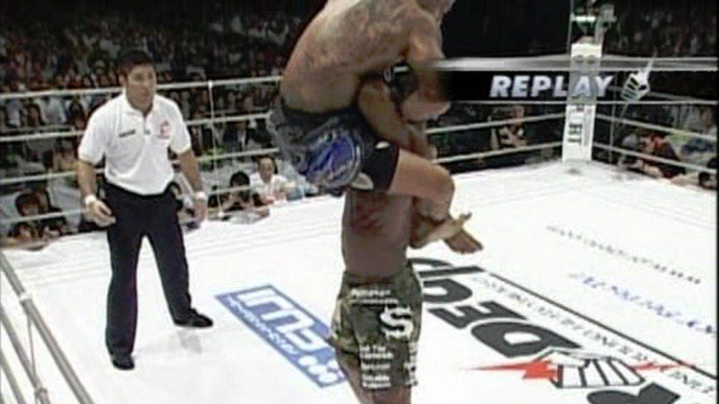 Rampage Jackson et l'un des plus gros KO de l'histoire du MMA