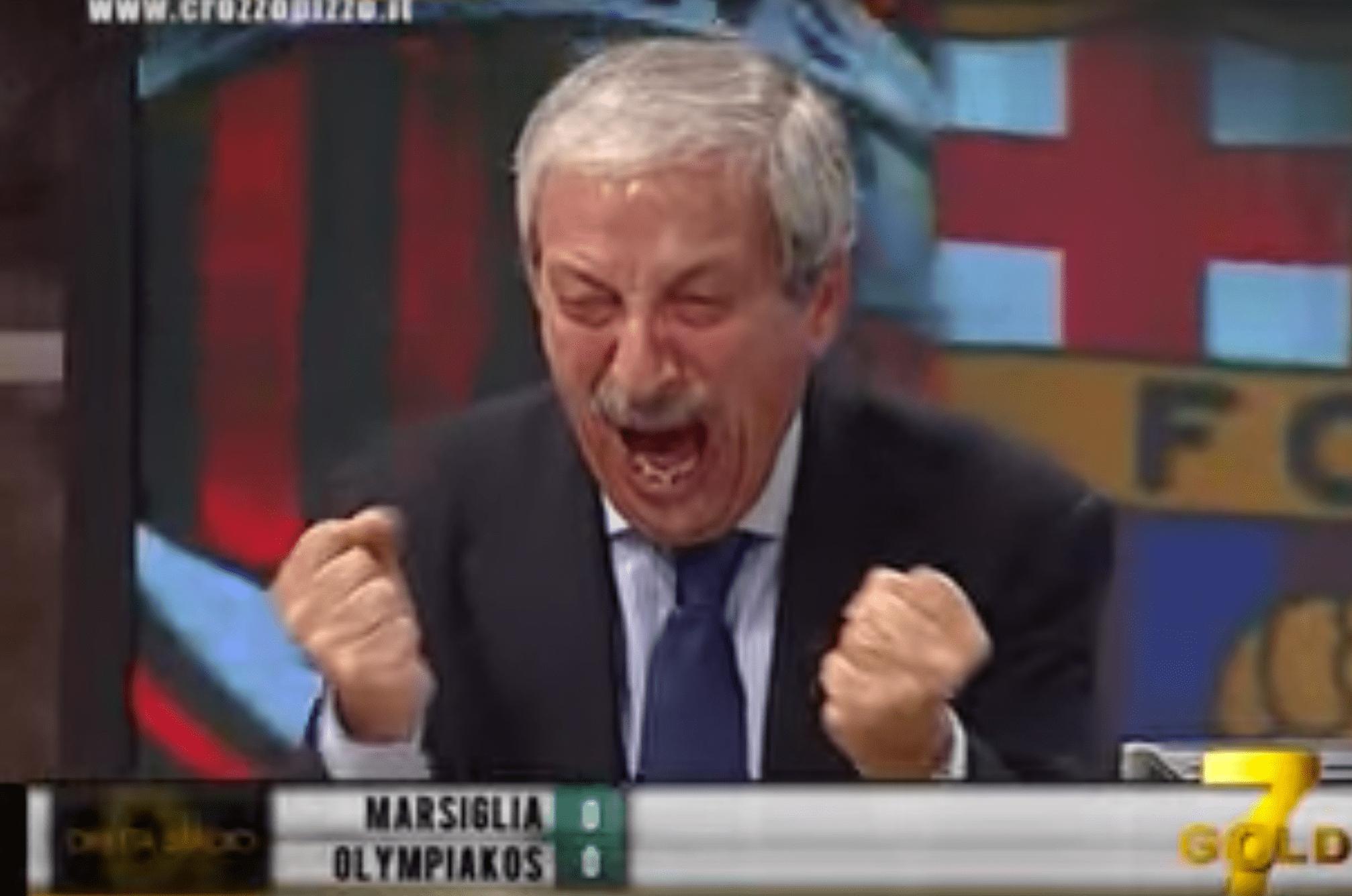 Tiziano Crudeli, le commentateur fou, fan du Milan AC