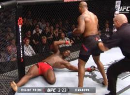 UFC 204 – Jimi Manuwa a ruiné le pauvre Ovince Saint Preux