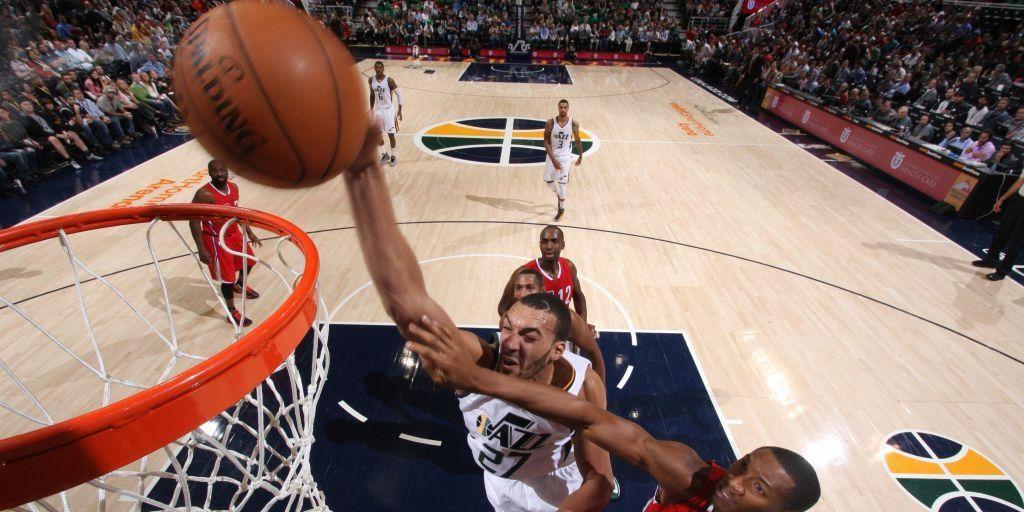 Un gros Rudy Gobert et le Jazz donne la fessée aux Clippers