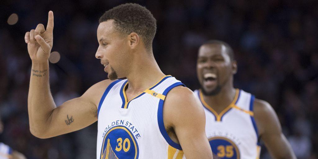 Warriors vs. Blazers – Curry et Durant donnent la leçon