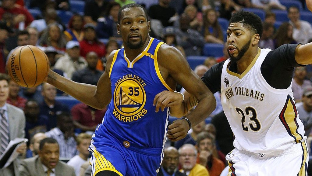 Warriors vs. Pelicans - L'énorme duel Kevin Durant - Anthony Davis
