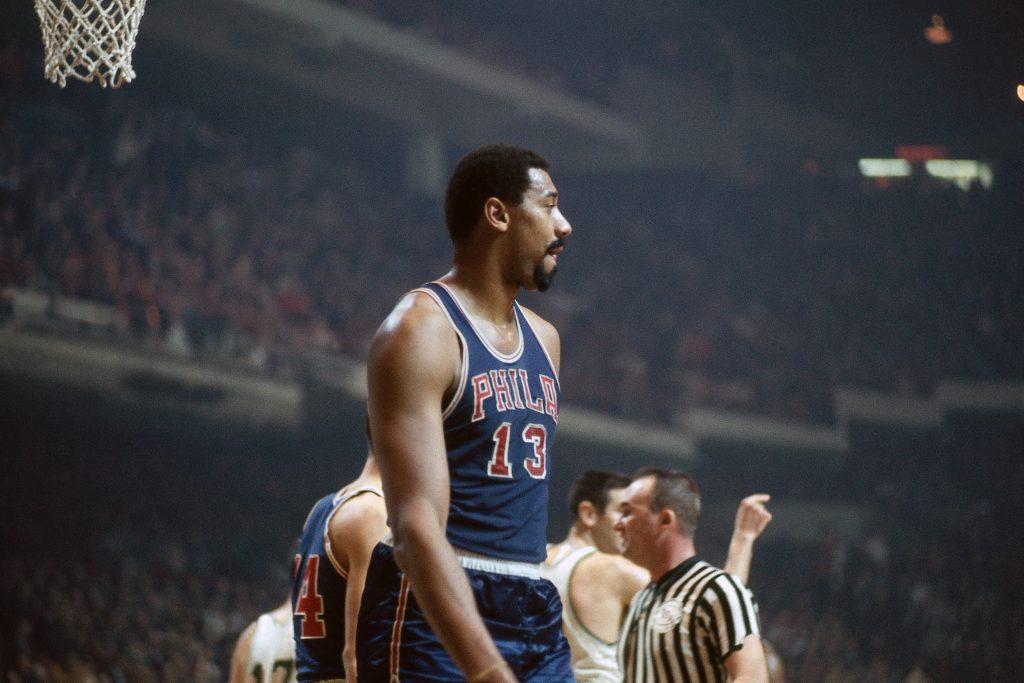 Wilt Chamberlain et le plus gros premier match en carrière NBA