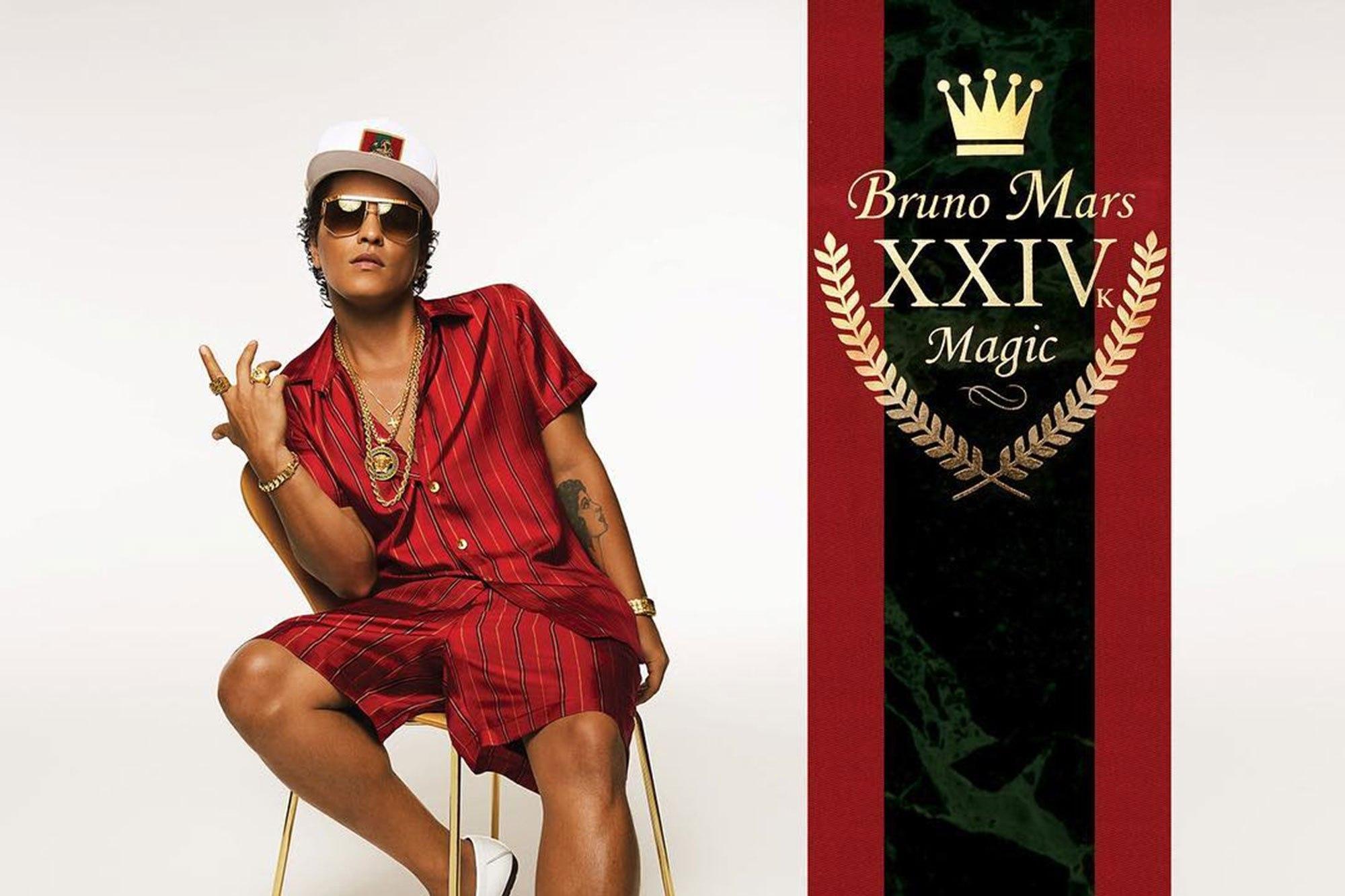 Chronique – Bruno Mars et son merveilleux 24K Magic