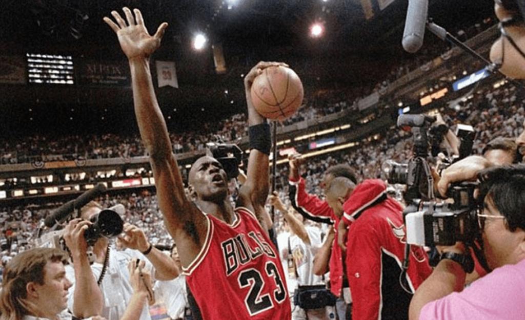 En quelle année Michael Jordan est devenu le GOAT?