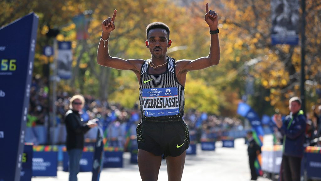 Ghirmay Ghebreslassie devient le plus jeune vainqueur à New York