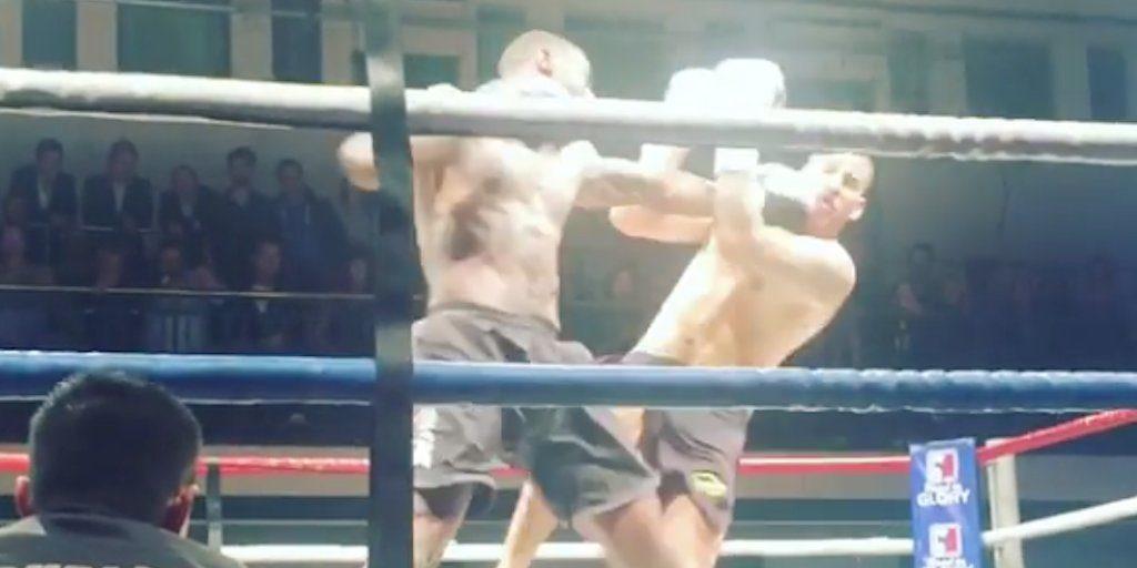 Idris Elba a fait son premier combat pro de kickboxing