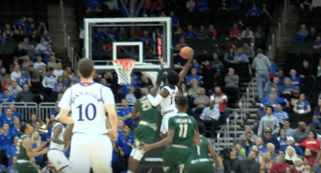 Josh Jackson, futur top pick a envoyé un énorme dunk hier