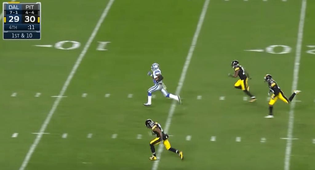 L'énorme touchdown d'Elliott pour sceller la victoire des Cowboys