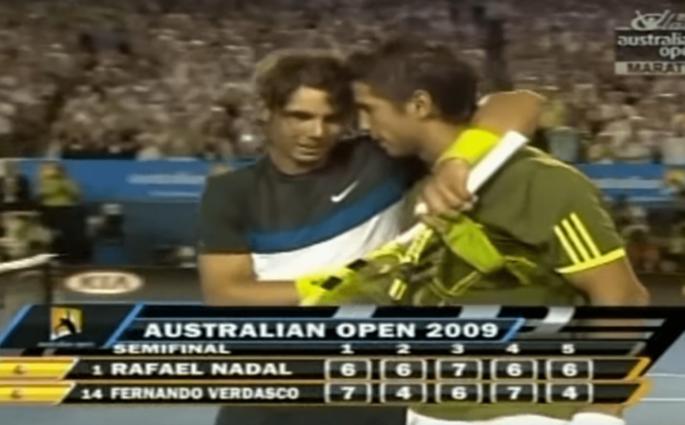 La Demi-Finale de l'Open d'Australie entre Nadal et Verdasco