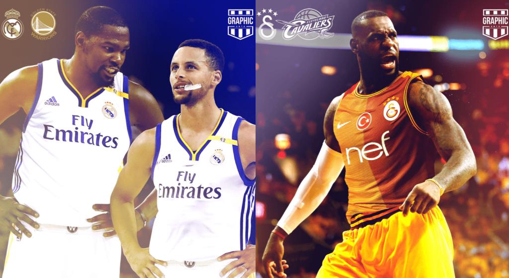 Le délire du jour: et si les franchises NBA étaient des clubs de foot?
