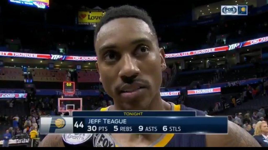 Les Pacers résistent au nouveau gros triple-double de Westbrook