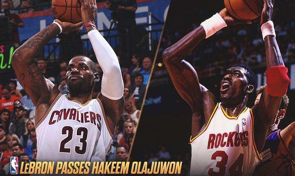 Meilleurs scoreurs de l'histoire - LeBron James dépasse Hakeem Olajuwon