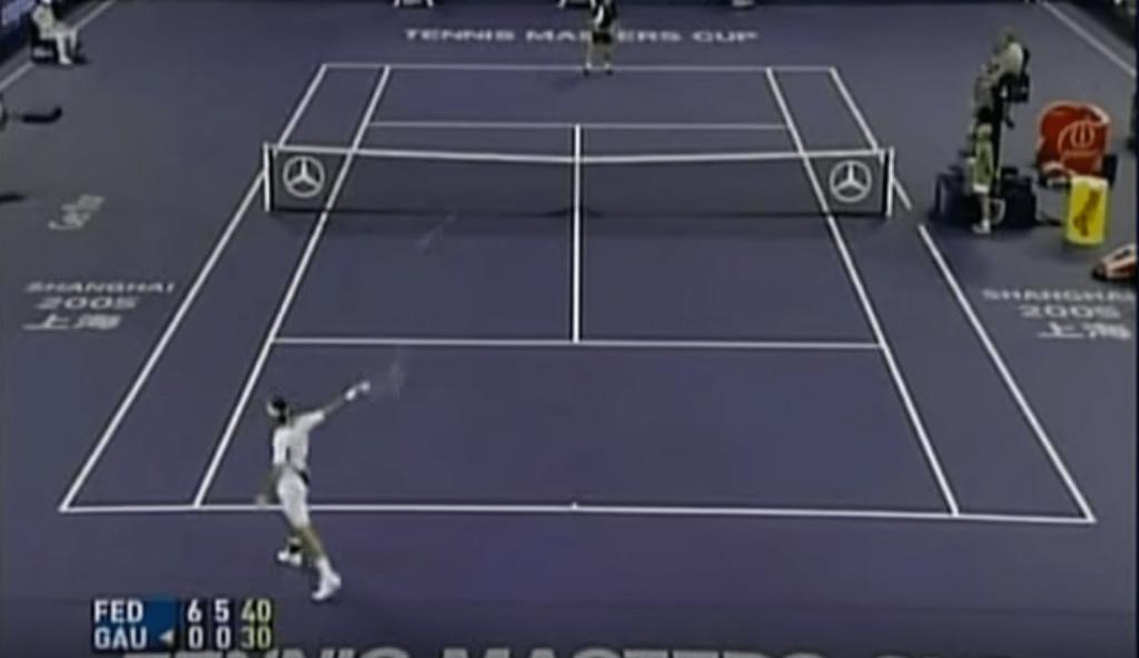 Quand Federer collait un 6-0, 6-0 contre Gaudio à la Masters Cup