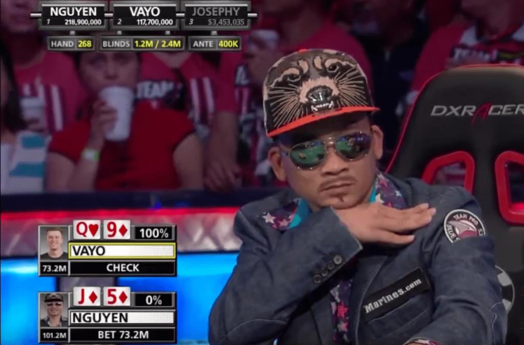 Qui Nguyen réussit le bluff du siècle et remporte les WSOP