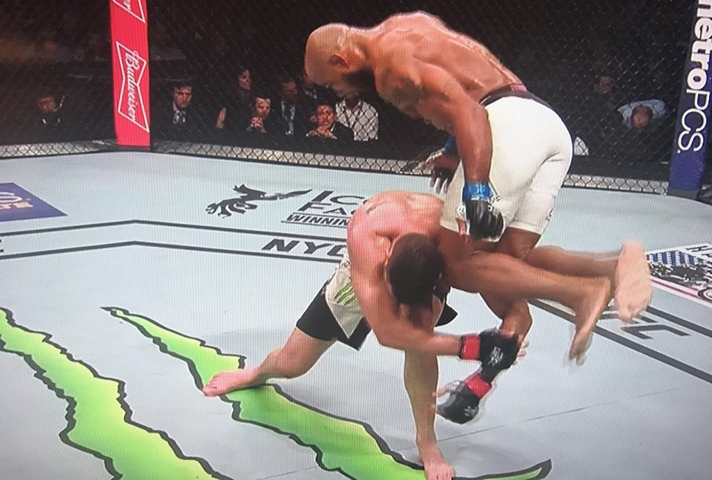 UFC – Yoel Romero a complétement anéanti Chris Weidman