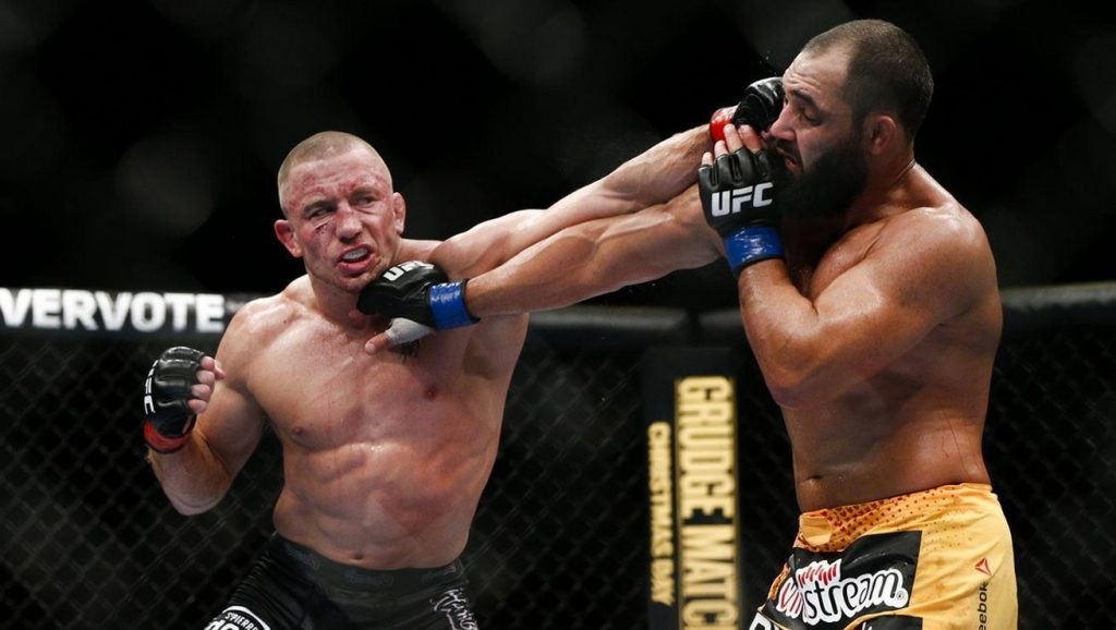 UFC 167 – George St-Pierre et sa guerre contre Johny Hendricks