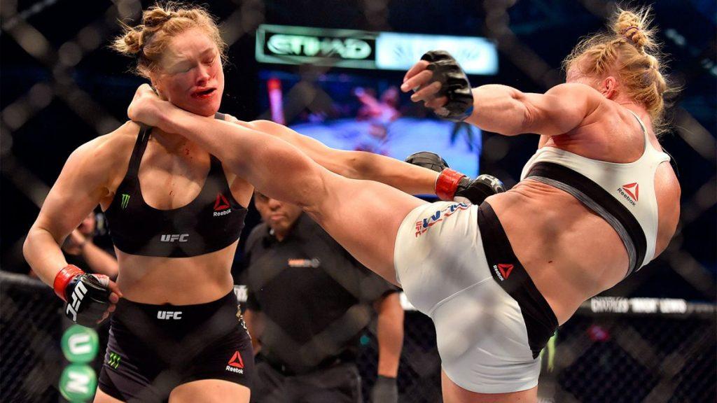 UFC 193 – Quand Holly Holm donnait une raclée à Ronda Rousey