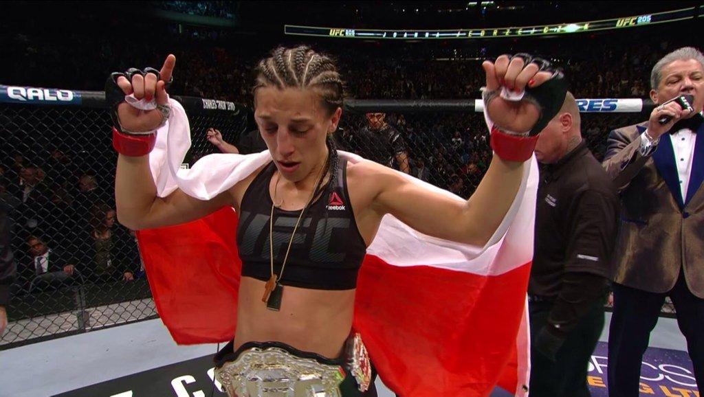 UFC 205 – Joanna Jedrzejczyk au bout de sa vie contre Karolina Kowalkiewicz