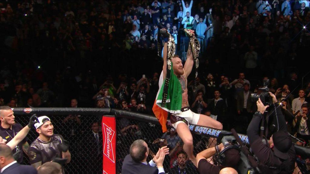 UFC 205 – La démonstration de McGregor contre Alvarez