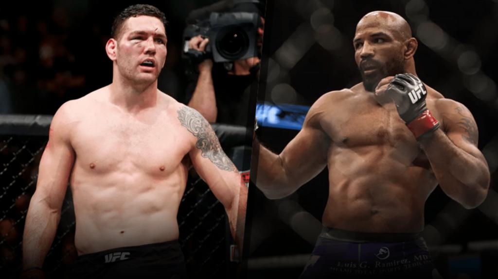 UFC 205 Weidman vs. Romero – le combat officieux pour le titre