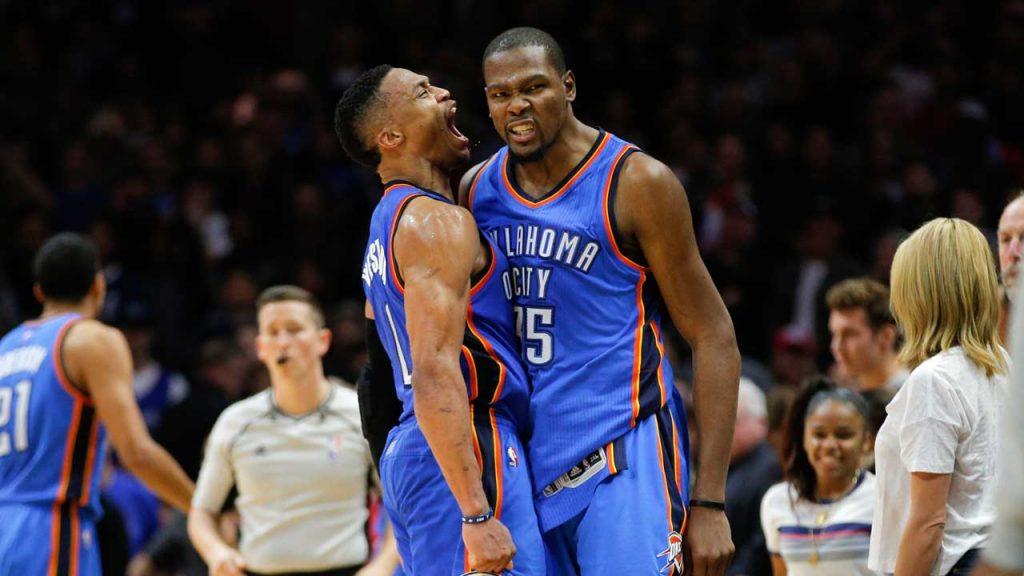 Un Durant très touchant se confie sur sa relation avec Westbrook