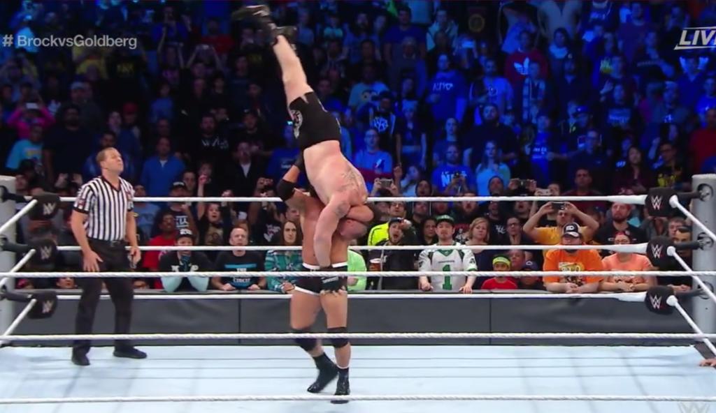 WWE Survivor Series: Goldberg a démonté Brock Lesnar