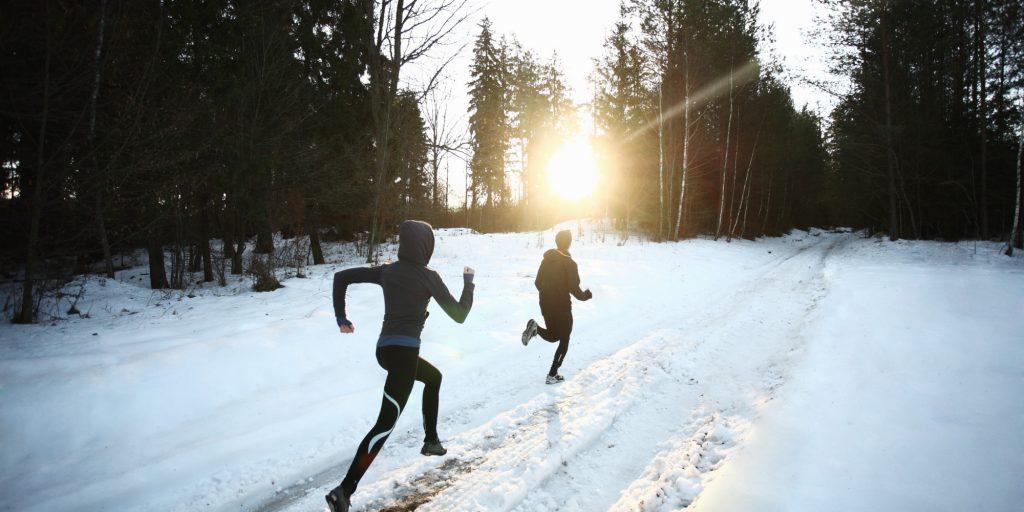 running-hiver