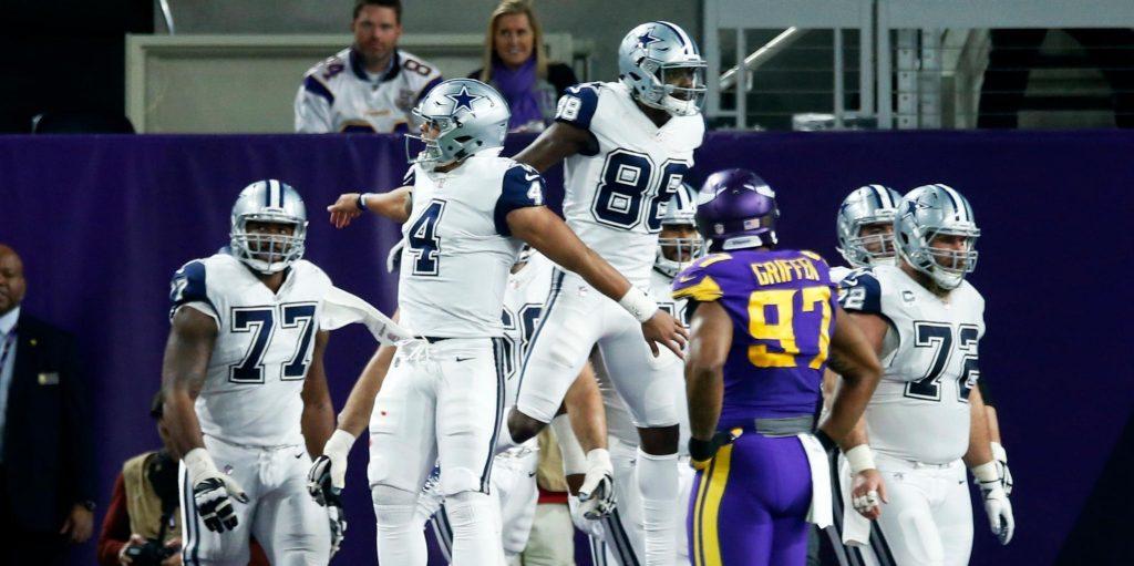 11e victoire de suite - Les Cowboys enchaînent contre les Vikings