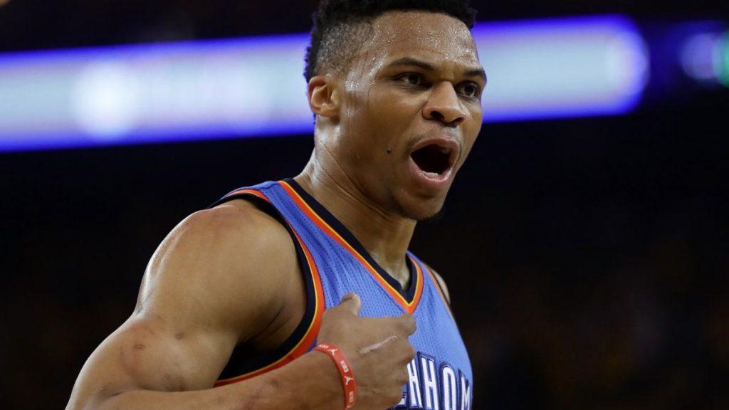 15e Triple double de la saison et victoire pour Westbrook