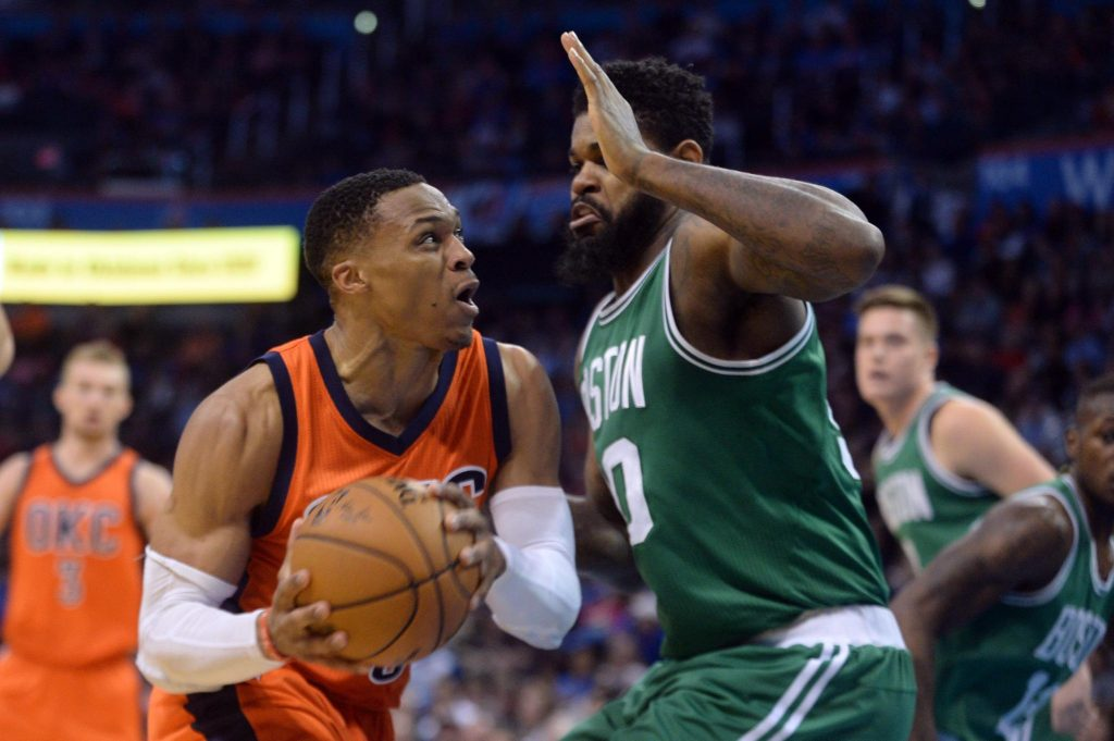 37 points, 12 rebonds, 6 passes et la gagne pour Westbrook contre Boston