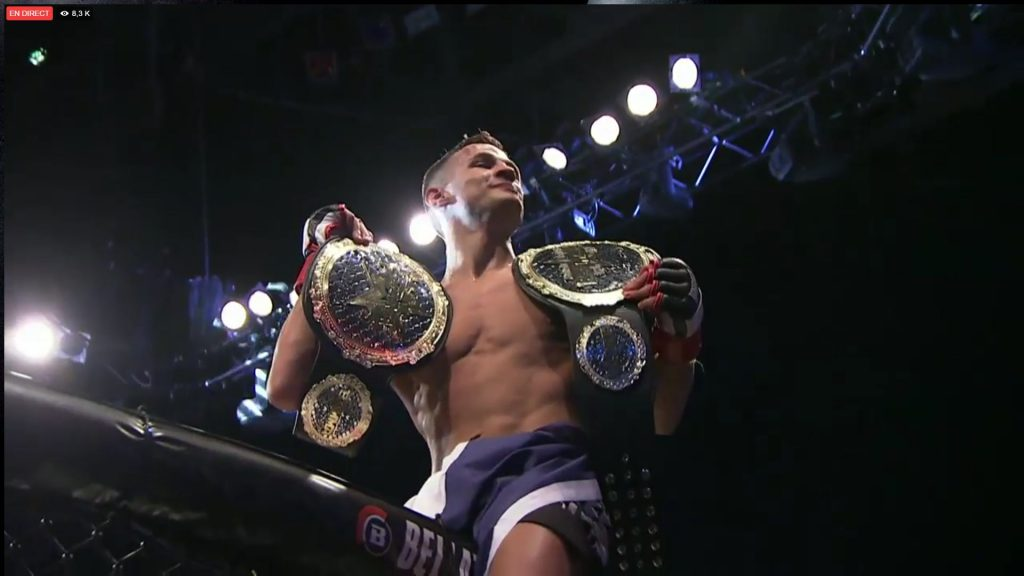 BAMMA 27 - Tom Duquesnoy fait le show contre Alan Philpott