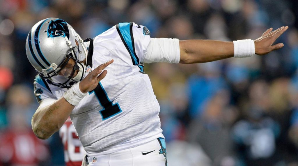 Cam Newton et les Panthers s'occupent des Redskins