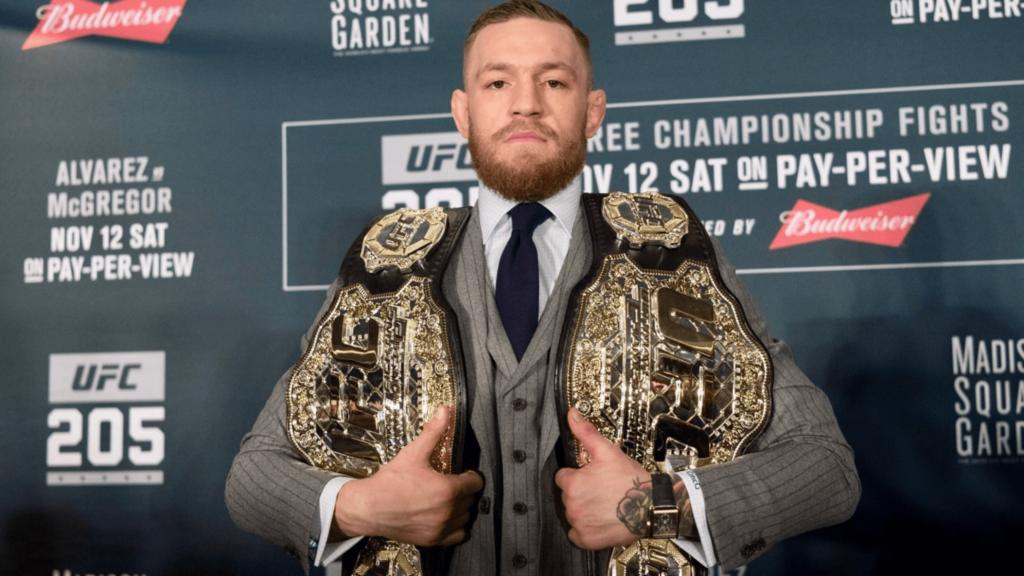 Conor McGregor réagit à la destitution de son titre featherweight par l'UFC