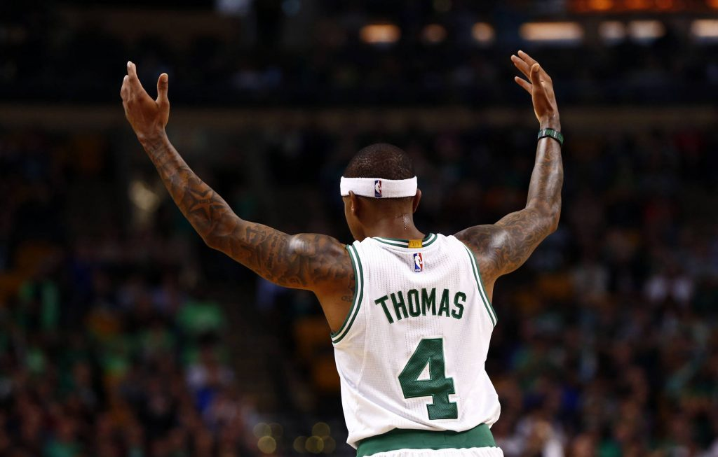 Isaiah Thomas prend feu et claque 52 points contre le Heat
